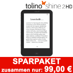 tolino shine 2 HD eBook Reader